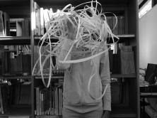 A messy head